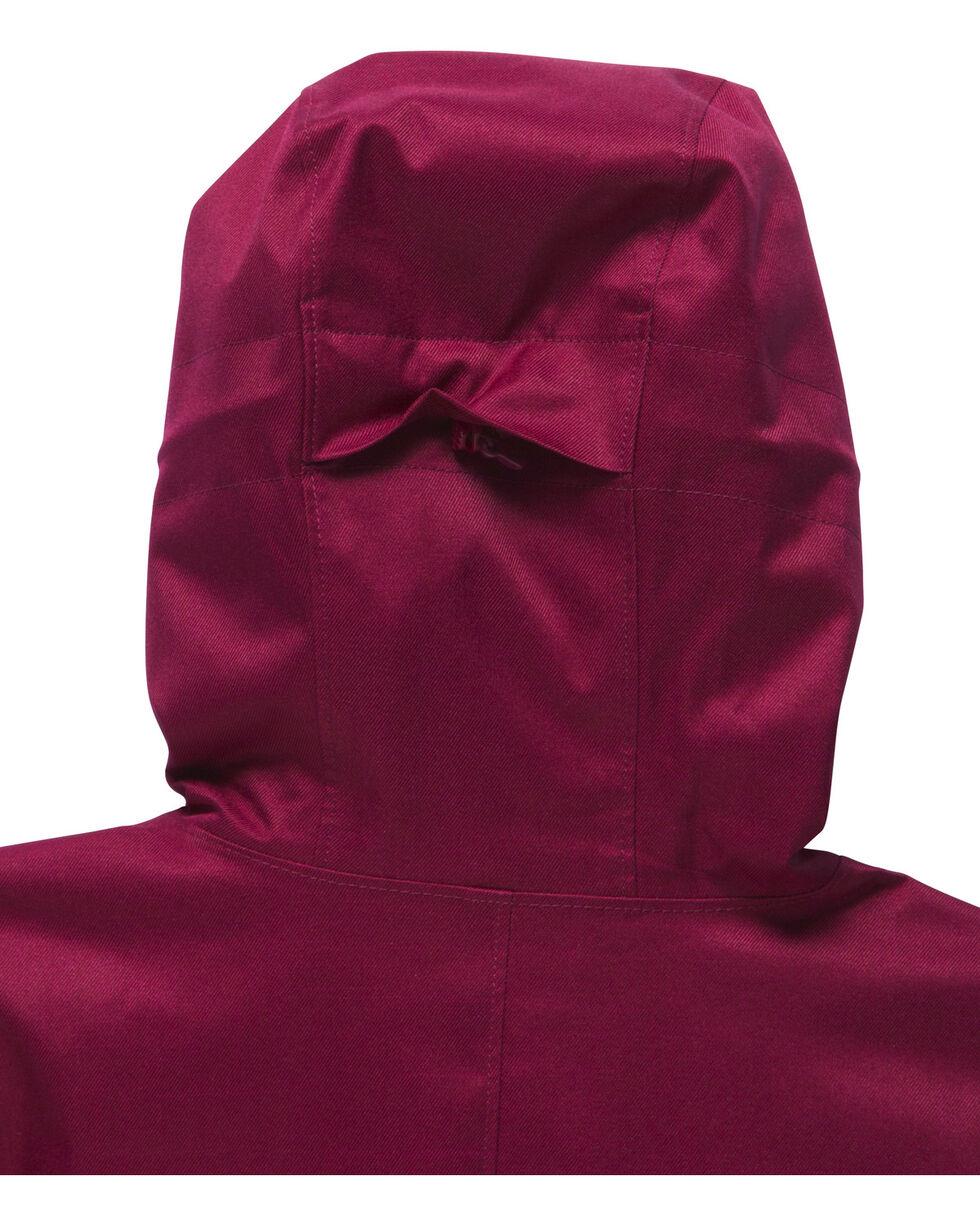 Under Armour Women's Coldgear Infrared Sienna 3-in-1 Jacket , Wine, hi-res