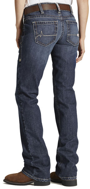 Ariat Women's Fire-Resistant Bootcut Work Jeans, Denim, hi-res