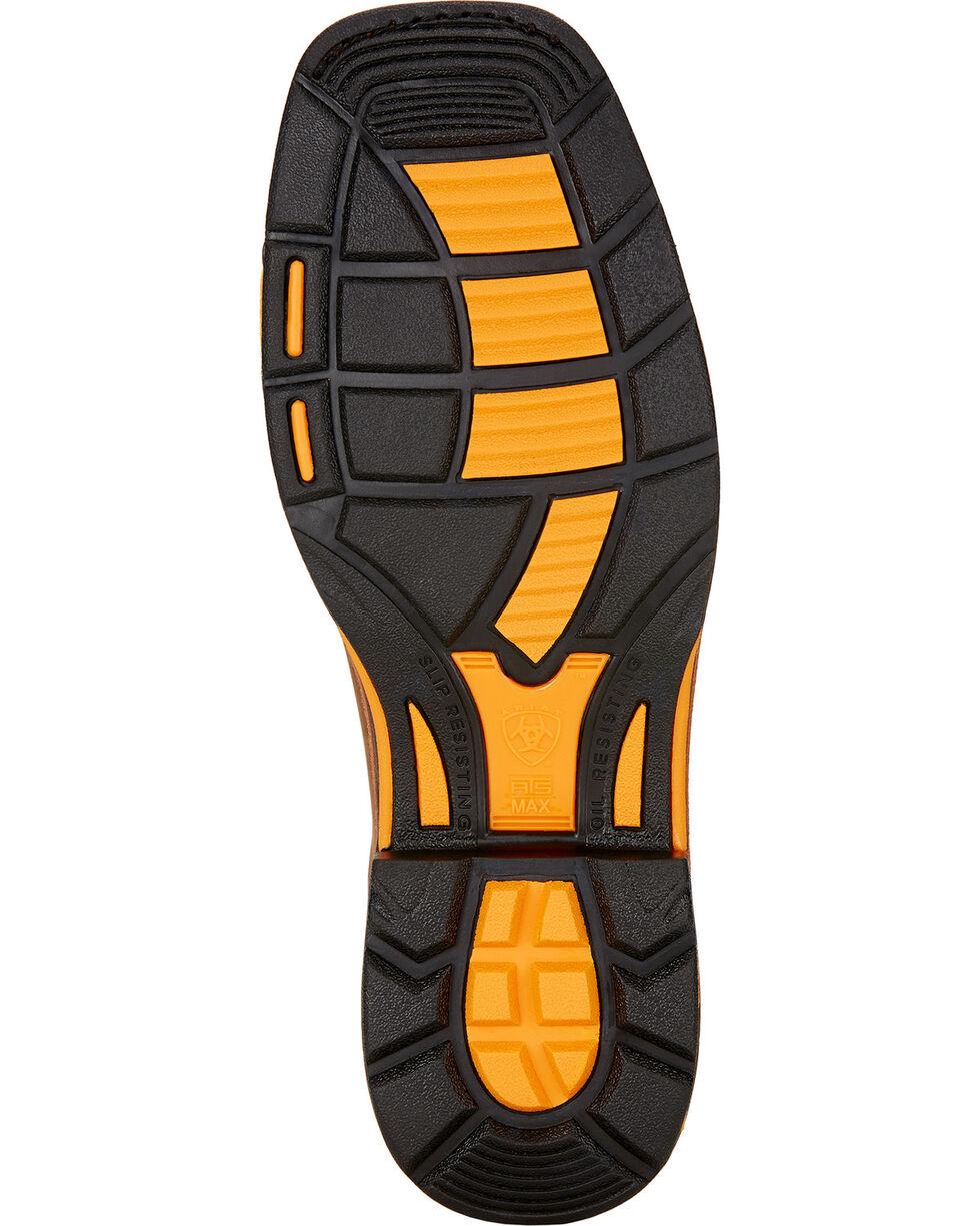 "Ariat Workhog 8"" H2O Work Boots - Composite Toe , Brown, hi-res"