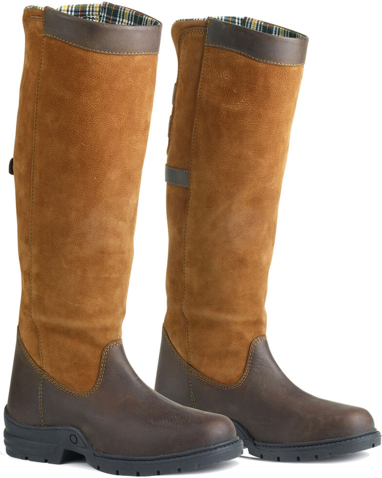 Ovation Women's Ainsley Country Boots, Brown, hi-res