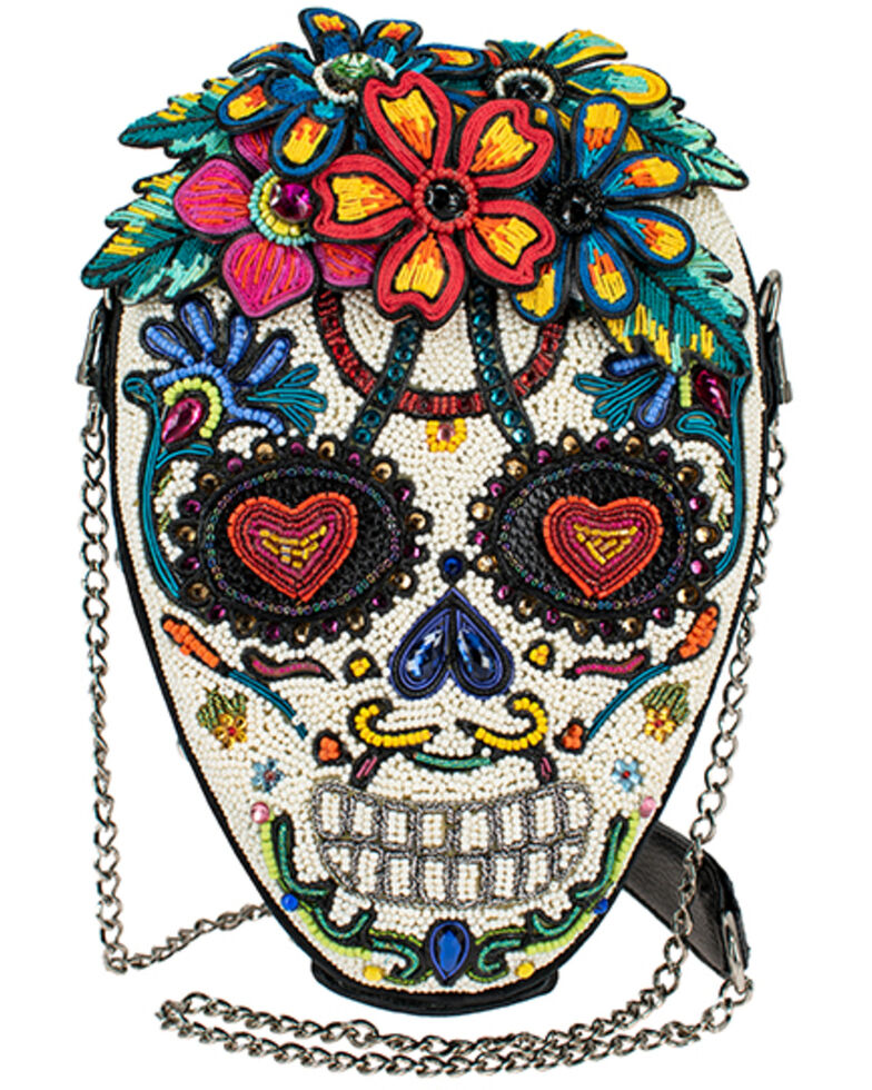 Mary Frances Women's Heart & Soul Handbag, White, hi-res