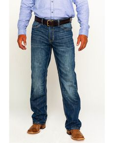 Cody James Men's Terlingua Medium Wash Stretch Jeans - Boot Cut, Blue, hi-res