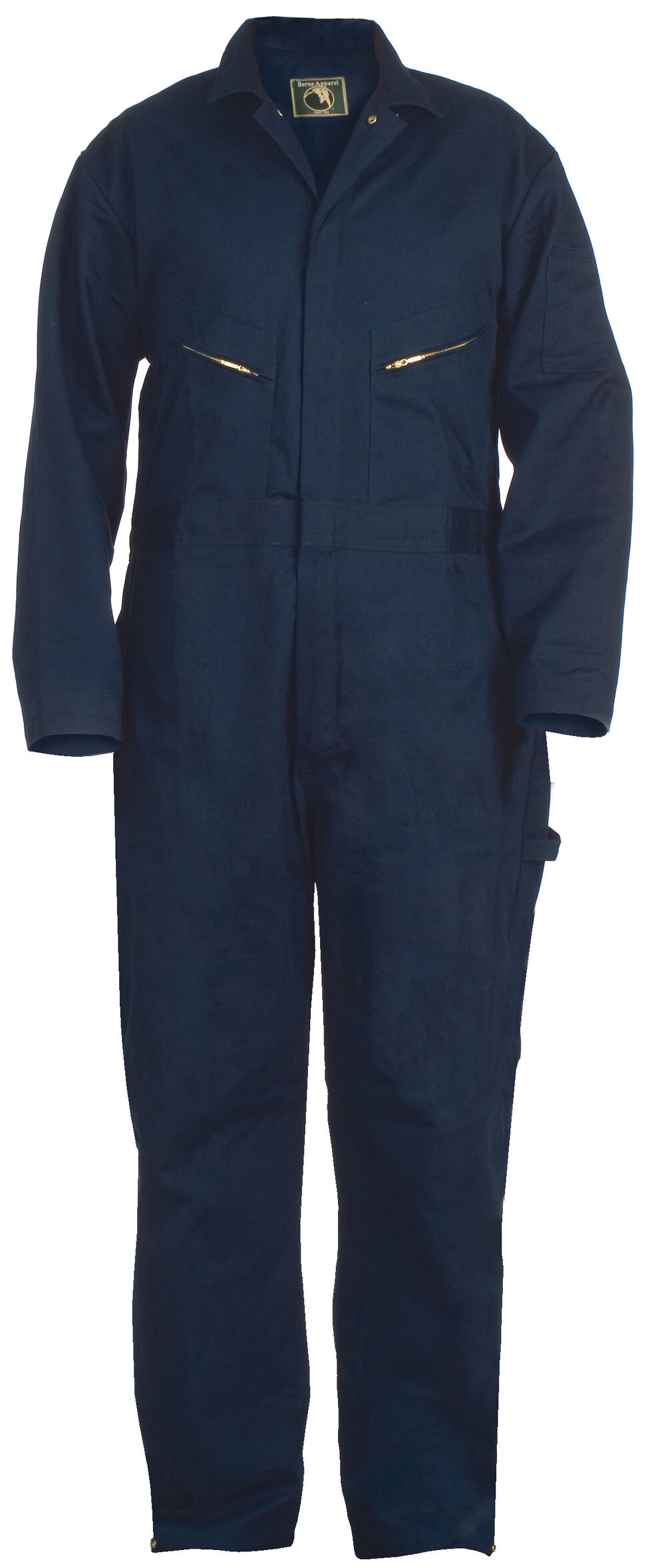 Berne Deluxe Unlined Coveralls - 56S, 58S, and 60S, Navy, hi-res