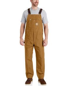 2e8584cedd6 Carhartt Mens Brown Duck Bib Work Overalls