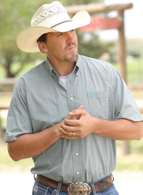 Cinch Men's Multi Short Sleeve Print Shirt , Multi, hi-res