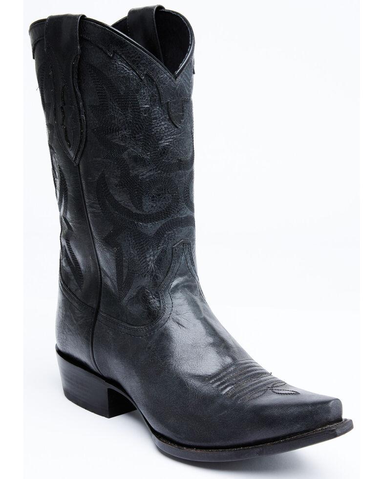 Cody James Men's Harrisburg Western Boots - Snip Toe, Black, hi-res