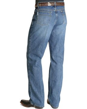 Cinch White Label Mid-Rise Jeans, Stonewash, hi-res