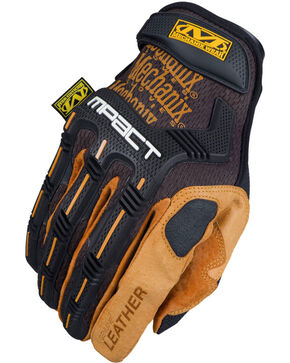Mechanix Wear Leather M-Pact Gloves , Multi, hi-res