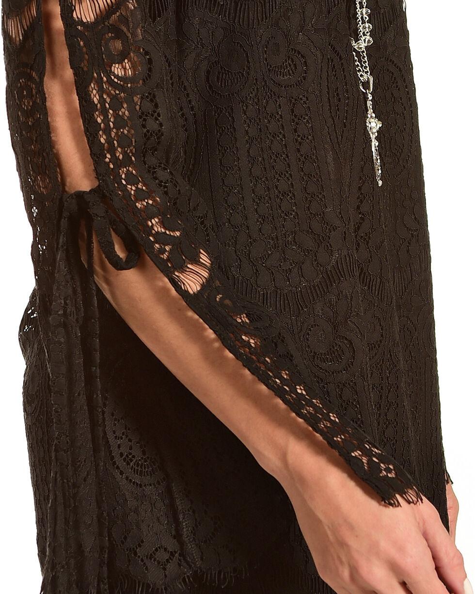 Young Essence Women's Lace Off The Shoulder Dress, Black, hi-res