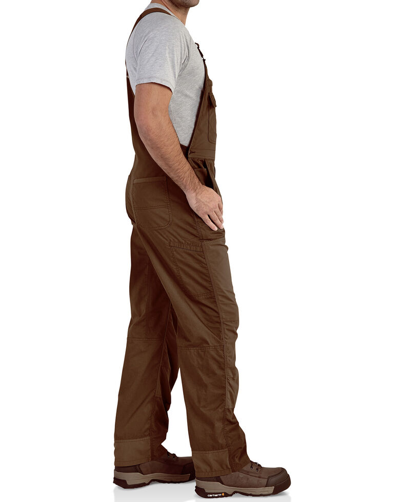 Carhartt Extremes® Men's Dark Brown Force Bib Work Overalls , Dark Brown, hi-res