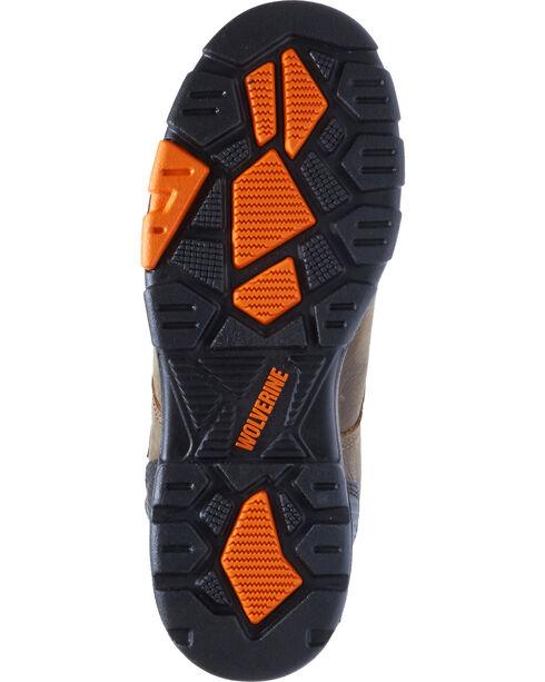 "Wolverine Men's Blade LX 6"" Waterproof Work Boots , Chocolate, hi-res"