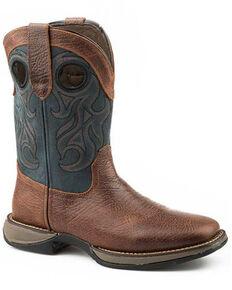 Roper Men's Wilder Western Boots, Brown, hi-res