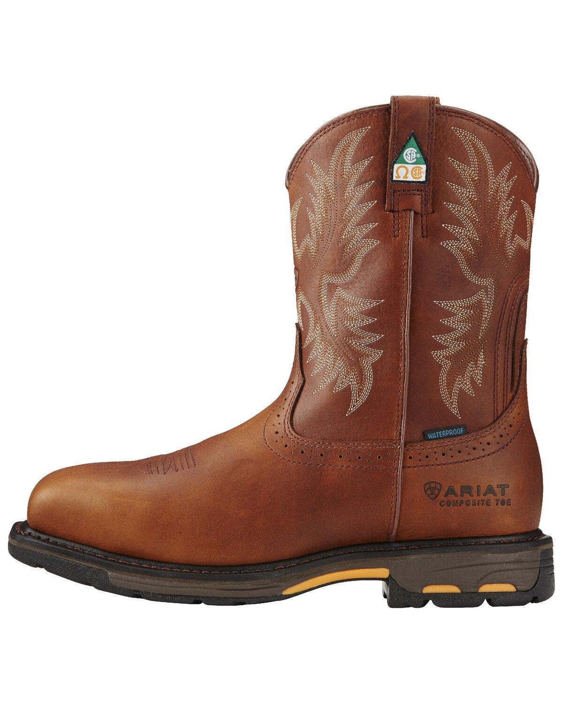 Ariat Men's WorkHog H2O CSA Work Boots