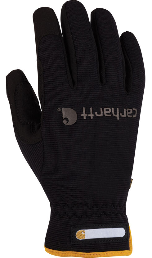 Carhartt Flex Work Gloves, Black, hi-res