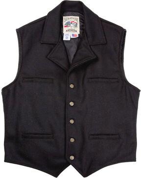 Schaefer Men's Cattle Baron Vest - 2XL, Black, hi-res