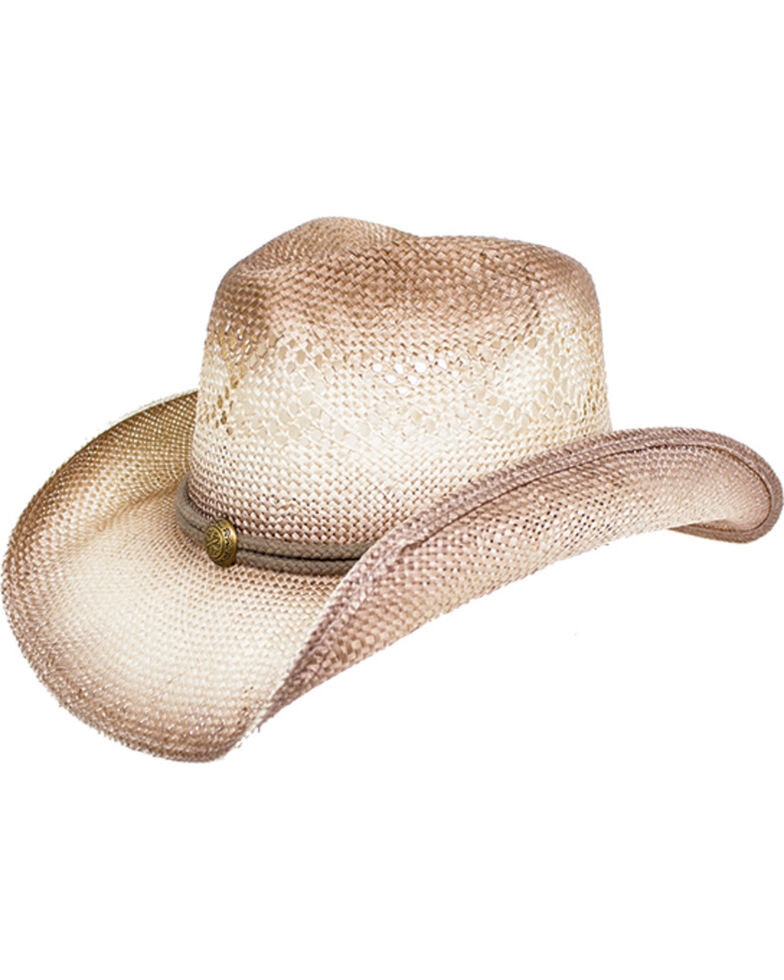 Peter Grimm Women s Grey Viola Cowgirl Hat  83a30e7cc79