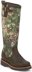 Chippewa Women's Tan Apache Snake Boots - Round Toe, Apache Tan, hi-res