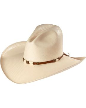 Resistol 4X Cisco Straw Cowboy Hat, Natural, hi-res