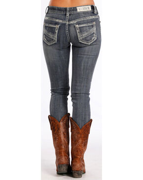 Panhandle Women's Indigo Mid-Rise Jeans - Skinny , Indigo, hi-res