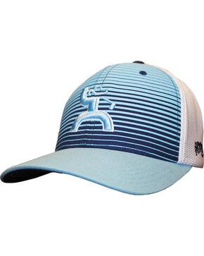 Hooey Men's Long Drive Striped Baseball Cap , Light/pastel Blue, hi-res