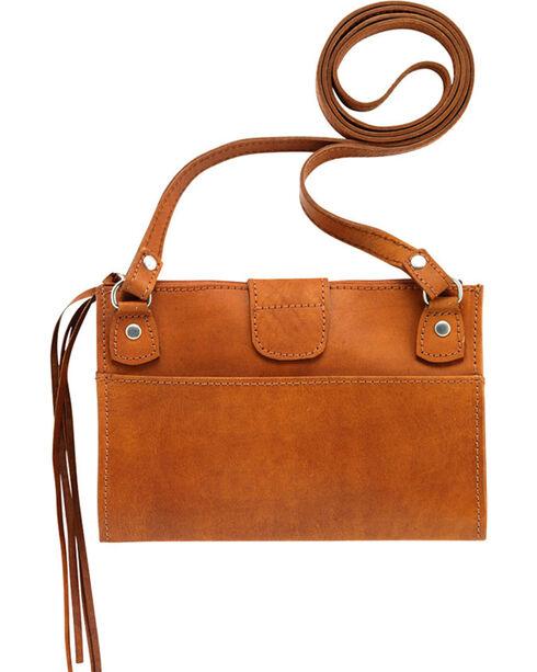Shyanne Women's Foldover Crossbody Bag, Tan, hi-res