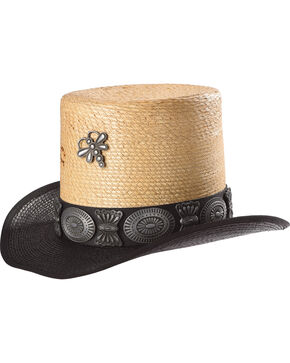 Charlie 1 Horse Women's Cochella Valley Top Hat , Black, hi-res