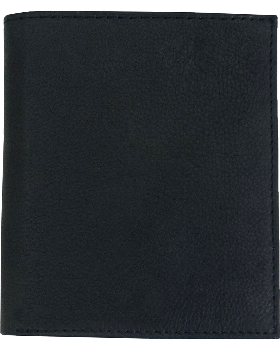 Western Express Men's Tall Leather Bi-Fold Wallet, , hi-res