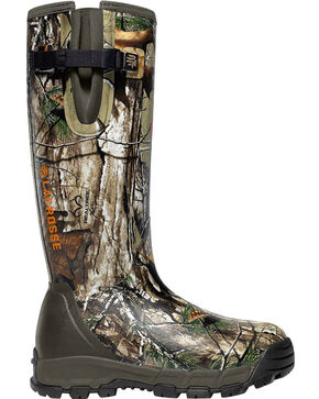 LaCrosse Men's 1000G Alphaburly Pro Realtree Xtra Hunting Boots - Round Toe , Brown, hi-res