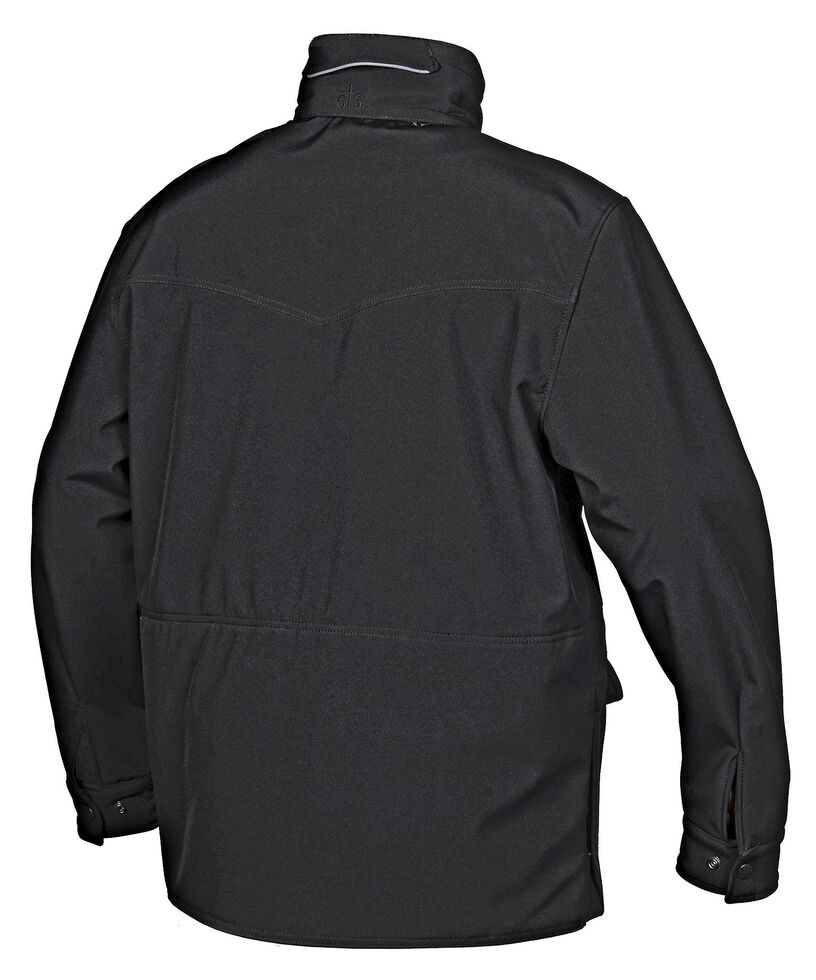 STS Ranchwear Men's Brazos Black Jacket - Big & Tall, Black, hi-res