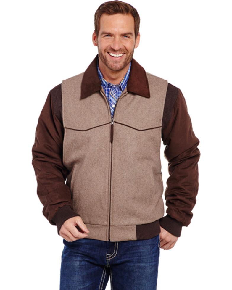 Cripple Creek Wool Western Jacket, Oatmeal, hi-res