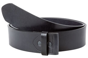 Mountain Khakis Men's MK Leather Belt (Belt Only) , Black, hi-res