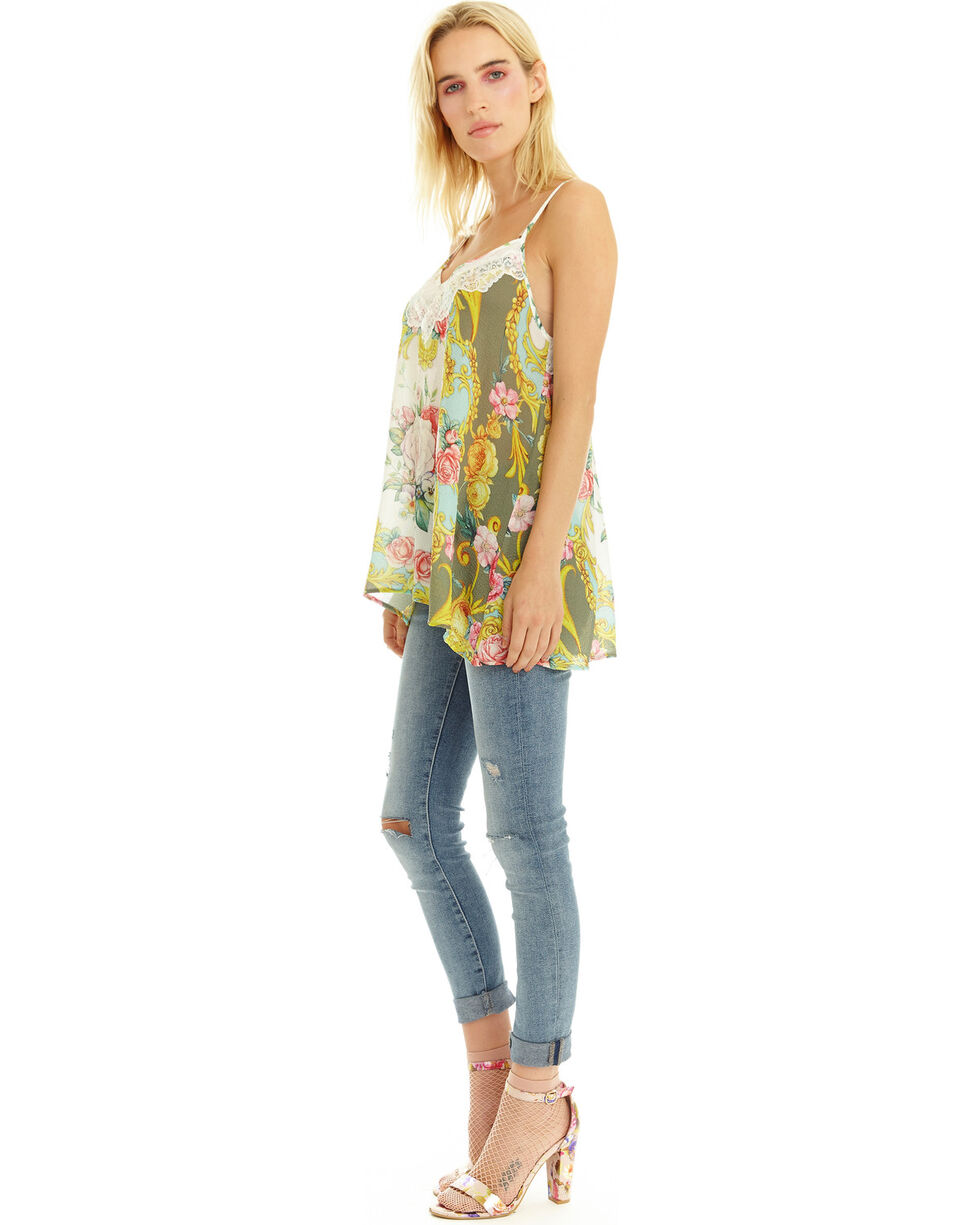 Aratta Women's Little Is Sweeter Tank , Multi, hi-res