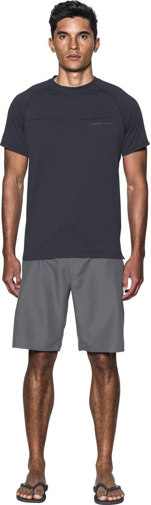 Under Armour Men's Charcoal Grey Mania Board Shorts, Charcoal Grey, hi-res