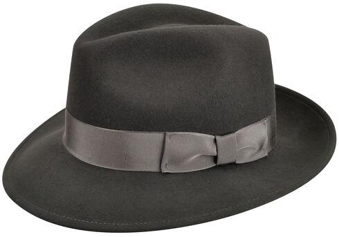 Country Gentleman Men's Slate Frederick Fedora , Slate, hi-res