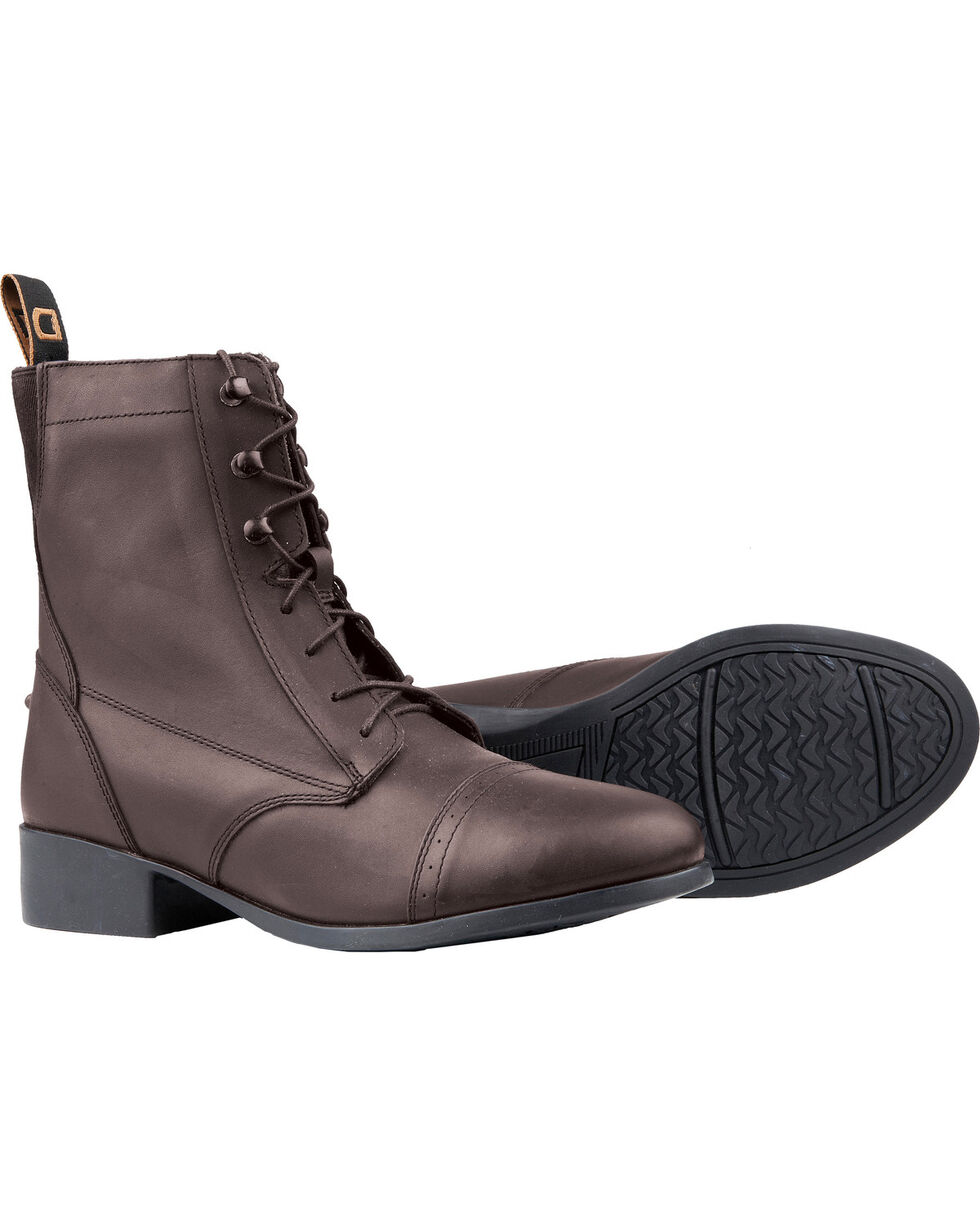 Dublin Kids' Elevation Laced Paddock Boots, Brown, hi-res