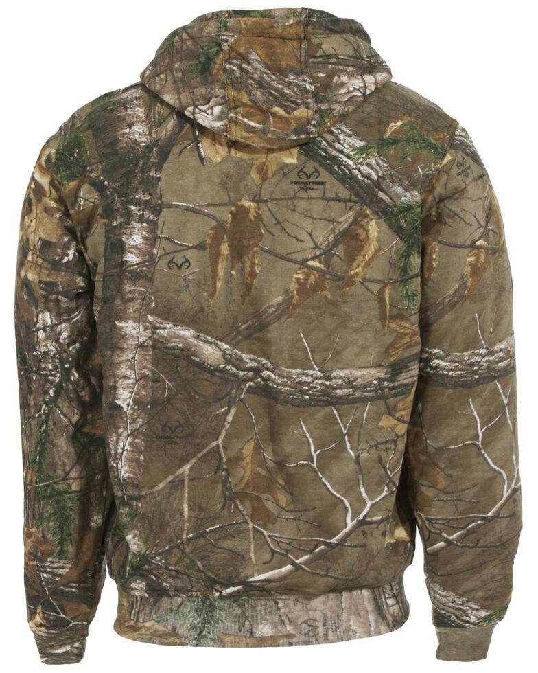 Berne Men's Camouflage All Season Hooded Thermal Lined Zip Work Jacket, Camouflage, hi-res