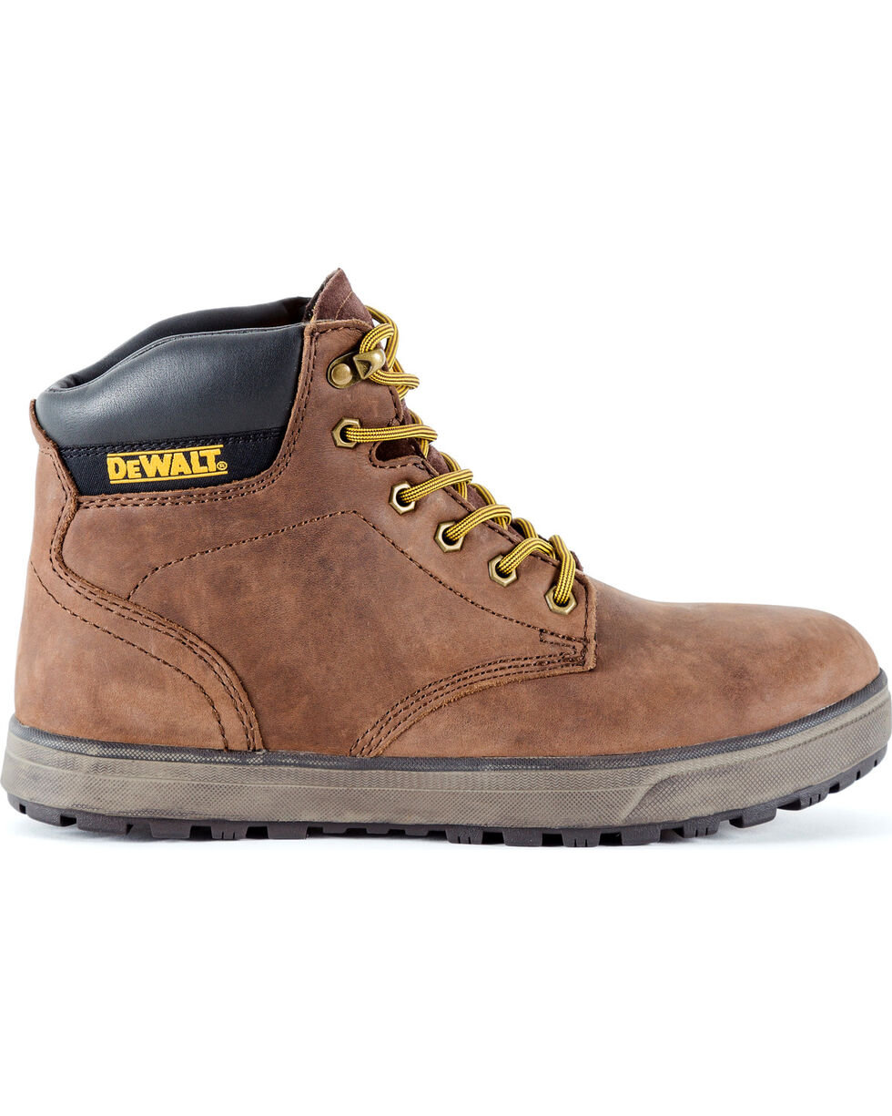 DeWalt Men's Plazma Hybrid Work Boots - Steel Toe, Brown, hi-res