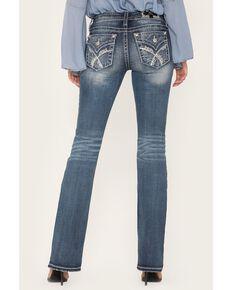 """Miss Me Women's Medium Lace 32"""" Bootcut Jeans, Blue, hi-res"""