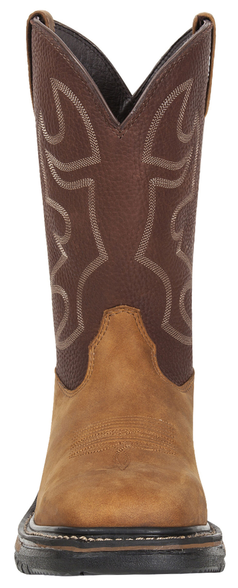 Rocky Men's Original Ride Steel Toe Western Boots, Brown, hi-res