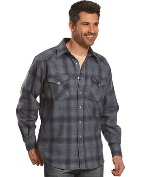 Pendleton Men's Blue Canyon Ombre Long Sleeve Shirt, Blue, hi-res