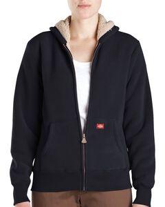 Dickies Sherpa Lined Fleece Jacket, Black, hi-res