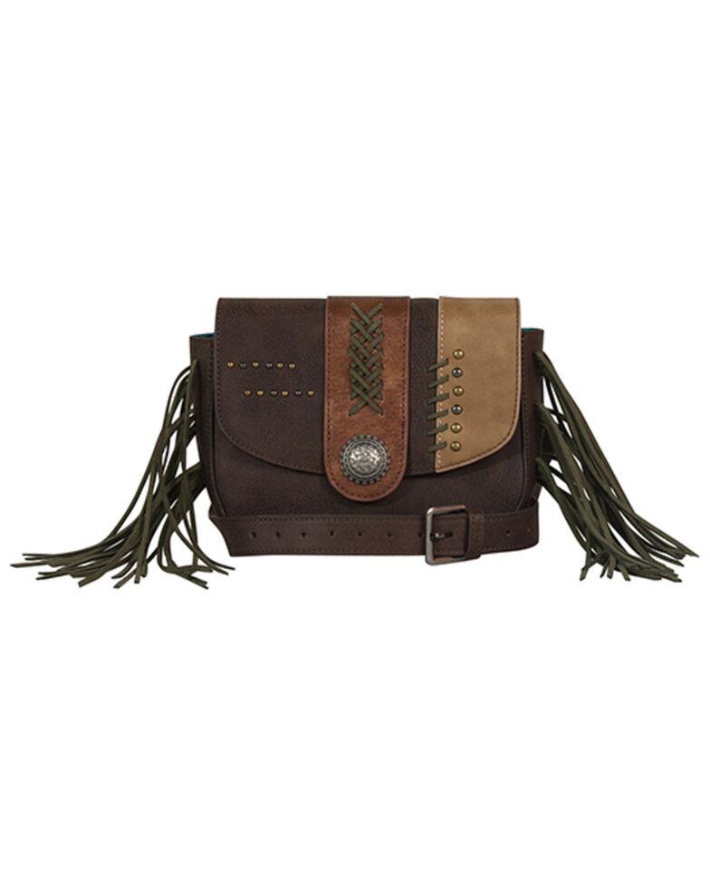 Catchfly Women's Shelby Belt Bag, Dark Brown, hi-res