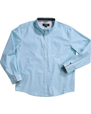 Cody James Men's Alan Blue Long Sleeve Shirt, Blue, hi-res