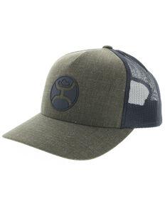 HOOey Mens Moss Logo Trucker Cap 65a0aceb8e87