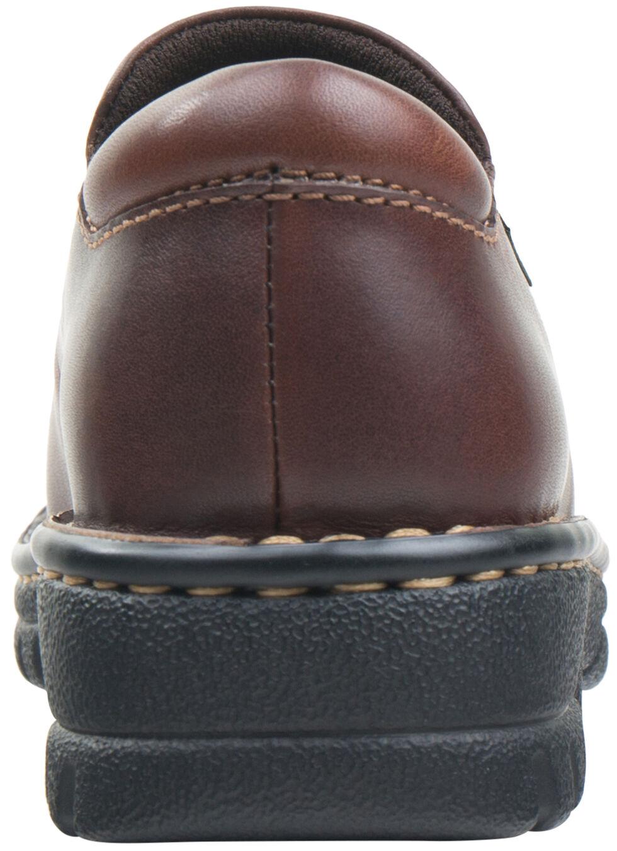 Eastland Women's Brown Newport Slip-Ons , Brown, hi-res