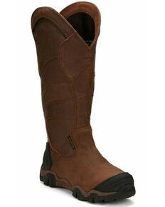 Chippewa Men's Cross Terrain Waterproof Snake Boots - Nano Composite Toe, Brown, hi-res