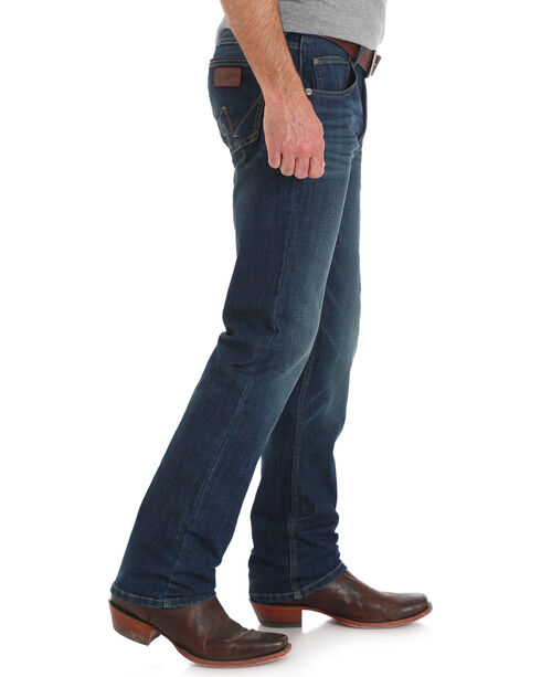 Wrangler Retro Men's Green River Slim Straight Jeans - Big & Tall, Indigo, hi-res