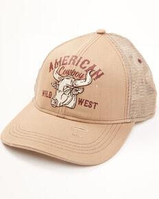 Cody James Men's American Cowboy Mesh Back Ball Cap , Tan, hi-res