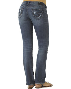 "Silver Tuesday Open Pocket Bootcut Jeans - 33"" Inseam, Denim, hi-res"