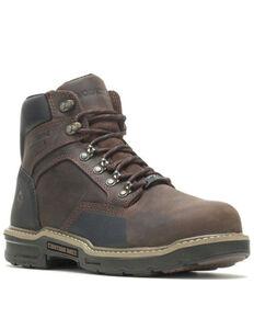 Wolverine Men's Bandit Work Boots - Composite Toe, Dark Brown, hi-res